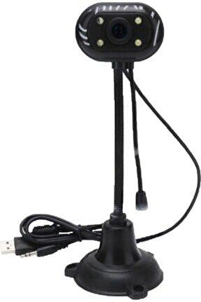 Webcam Kamera Usb Mikrofonlu Işıklı Uzaktan Eğitim Eba
