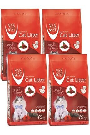 Natural Cat Lıtter 10 Kg 4 Adet