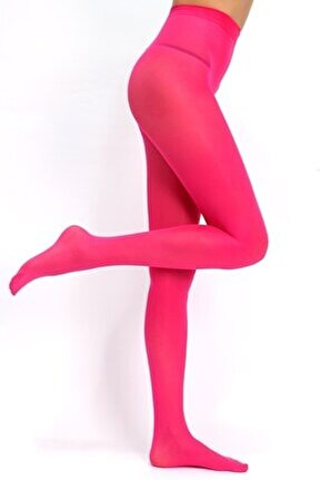 Kadın  Fuşya Mikro 40 Külotlu Çorap - 07