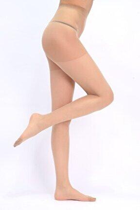 Kadın Sahra Renk Süper İnce Külotlu Çorap - 52
