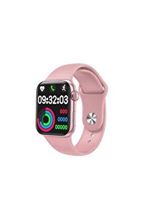 Smart Watch Akıllı Saat Tam Ekranlı Yan Tuş Aktif Bluetooth Nabız Ölçme-Konuşma Özellikli Hw22
