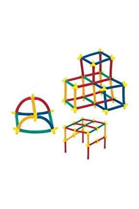 Süper Bambu Çubukları 200 Parça Eğitici Oyun Set