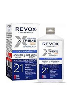 E-xtreme Dökülen Ve Geç Uzayan Saçlar Için Şampuan 400ml