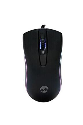 Sm-m9 Usb Siyah 3d Optik Led Mouse Kablolu