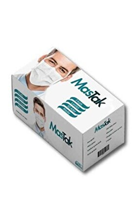 3 Katlı Cerrahi Maske 50 Lili Kutu Burun Telli Medikal Maske