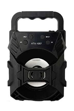 Ktx-1057 Işıklı Bluetooth Hoparlör Ses Bombası Yüksek Ses