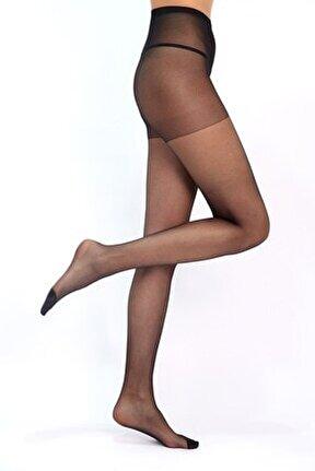 Siyah Süper Ince Külotlu Çorap - 500