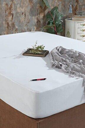 Fitted Kenarlı Sıvı Geçirmez Yatak Koruyucu Alez 100x200
