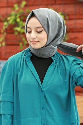 Kadın Füme Cotton Pamuk Şal Ck01