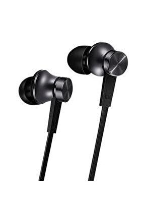 Piston Basic Edition Mikrofonlu Kulakiçi Kulaklık Siyah (Yassı Kablolu)