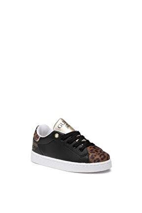 Kız Çocuk Siyah Sneakers Fı7lucele12