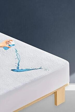 Sıvı Geçirmez Çift Kişilik Fitted Alez 160x200 cm