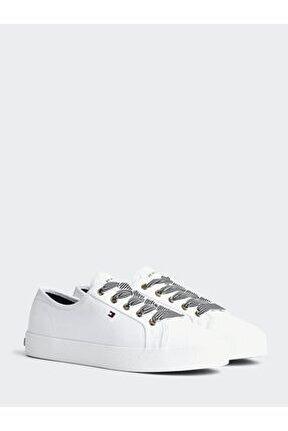 Kadın Beyaz Sneaker Essentıal Nautıcal Sneaker FW04848-YBS