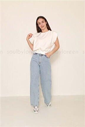 Kadın Soul Kısa Sweatshirt 30694