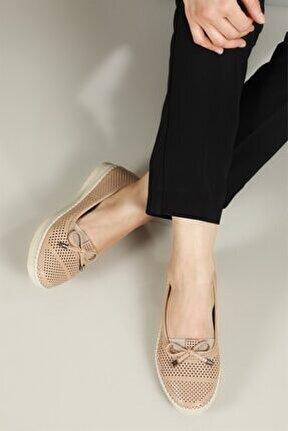 Nefes Alır Jelli Ortopedik Ten Kadın Ayakkabı W-529
