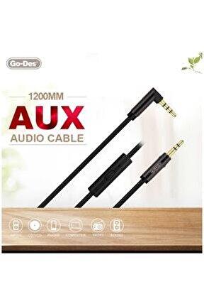 Go Des Gac-207 Aux Audio Kablo Siyah