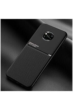 Xiaomi Poco X3 Pro Kılıf Design Silikon Kılıf Siyah
