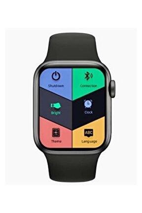 Ak76 Akıllı Saat Yan Tuş Döndürmeli Türkçe Menülü Renkli Ekran Arama Cevaplama Konuşma Özellikli