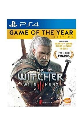 The Witcher 3: Wild Hunt - Game Of The Year Edition Ps4 Oyun