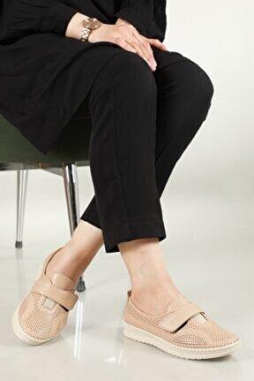 Nefes Alır Jelli Ortopedik Ten Kadın Ayakkabı W-521
