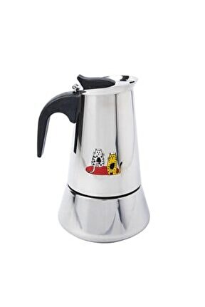 Cats Çelik Espresso Makinesi