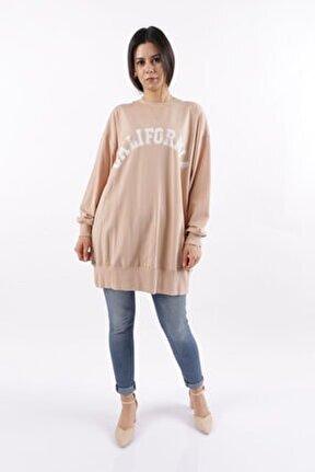 Kadın Baskılı Sweatshirt