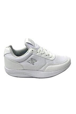 Kadın Beyaz Yürüyüş Zayıflama Ayakkabısı