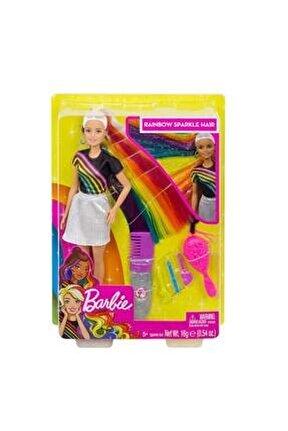 Gökkuşağı Renkli Saçlar Bebeği FXN96-FXN96