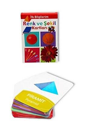Renk Ve Şekil  Kartları - Ilk Bilgilerim 0-3 Yaş