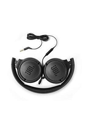 T500 Kablolu Kulak Üstü Kulaklık Siyah