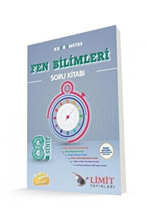 8.sınıf Kronometre Fen Bilimleri Soru Kitabı