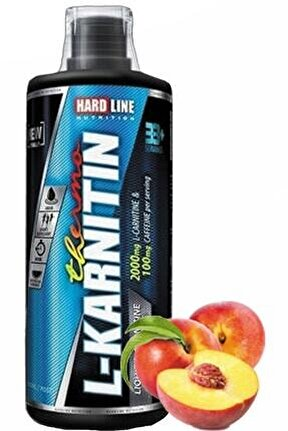 Thermo L Karnitin Sıvı 1000 Mg Şeftali Aromalı Yağ Yakıcı Enerji Güç Takviye