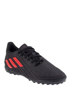 Unisex Siyah Halı Saha Ayakkabısı