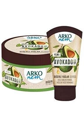 Nem Değerli Yağlar Avokado Yağı El Ve Vücut Kremi 250  ml& 60 ml