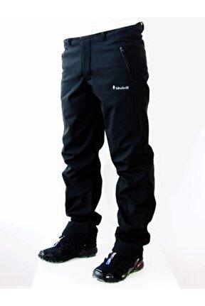 Erkek Siyah Outdoor Softshell Pantolon  202223