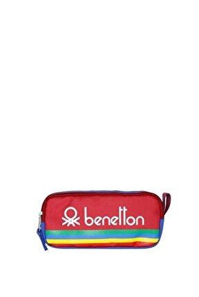 Unisex Benetton Iki Bölmeli Kalemlik 70043