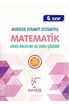 6.sınıf Matematik Konu Anlatımlı Ve Soru Çözümü