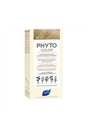 Color 10 Bitkisel Saç Boyası Çok Açık Sarı