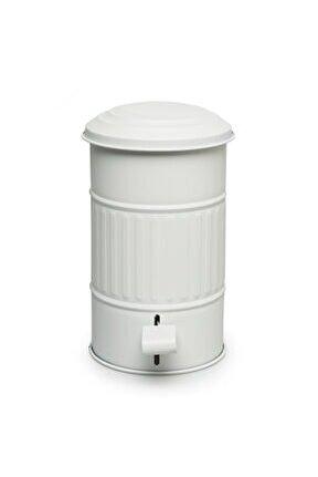 Banyo Çöp Kovası 5 Litre - Beyaz