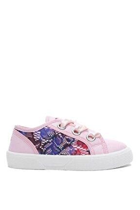 Kız Çocuk Gri Tasarım Sneaker Fı7pılfab12