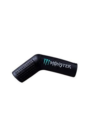 Monster Motosiklet Evrensel Siyah Vites Çorabı Pedi