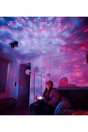 Starry Projektör Hoparlör Gece Lambası