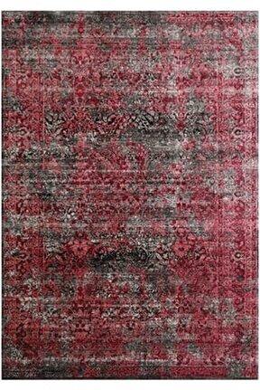 Gloria Td71802 Kırmızı Klasik Desen Dokuma Saçaklı Kilim