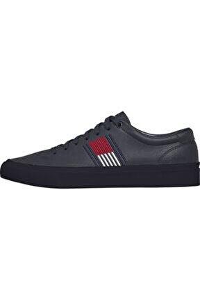 Erkek Beyaz Sneaker Corporate Deri Sneaker FM0FM02853