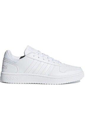 Kadın Beyaz Spor Ayakkabı HOOPS 2.0