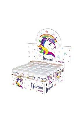 Unicorn Temalı Köpüklü Üflemeli Baloncuk (8 Adet)