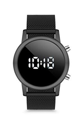 Duj1009 Unisex Kol Saati Hasır Siyah