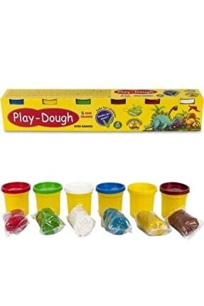 Play Dough Oyun Hamuru 6lı Ern-009