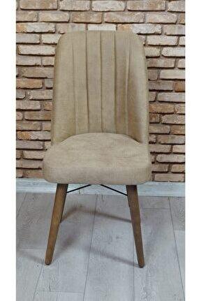 Arven Kare Gold Sandalye (6 Adet)