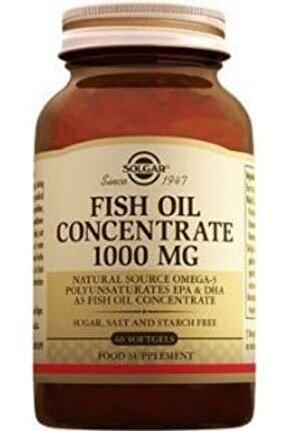 Fish Oil 1000 Mg 60 Kapsül